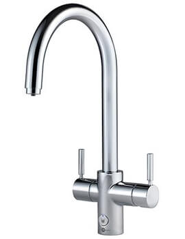 Insinkerator 4N1 Touch J Shape Steaming Hot Water Tap With NeoTank And Filter