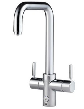 Insinkerator 4N1 Touch U Shape Steaming Hot Water Tap With NeoTank And Filter