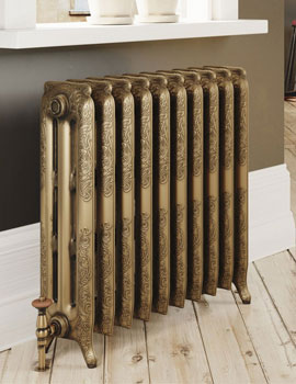 DQ Heating Loxley Cast Iron Radiator 3 - 40 Sections - Image