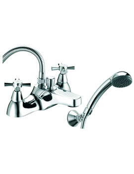 Milan Deck Mounted Bath Shower Mixer Tap