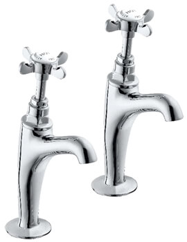 Coronation Half Inch High Neck Kitchen Sink Taps