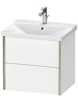 XViu Wall-Mounted 2 Drawers Vanity Unit For P3 Comforts Basin