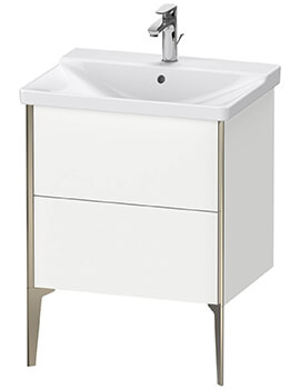 XViu Floor-Standing 2 Pull-Out Compartments Vanity Unit For P3 Comforts Basin