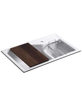 Kohler Indio Smart Divide Under Mount Kitchen Sink