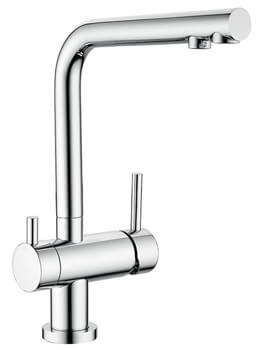 Clearwater Hydra L Swivel Spout Kitchen Sink Mixer Tap With Cold Filter