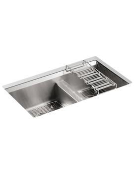 Kohler 8mm Degree 838mm 1.5 Bowl Under Mount Sink