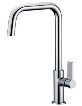 Clearwater Jovian Single Lever U Swivel Spout Monobloc Kitchen Sink Tap
