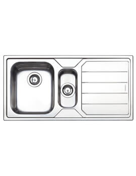 Clearwater Linear 1000 x 500mm 1.5 Bowl And Drainer