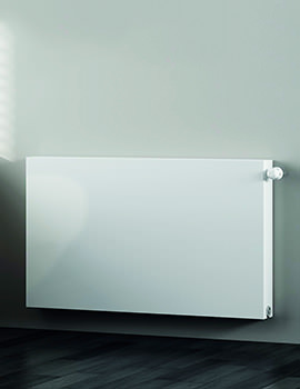 Kartell K-Flat Kompact Horizontal Double Convector 600mm High Radiator - Image
