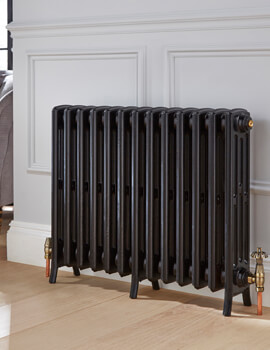 Kartell K-Rad Legacy 4 Column Cast Iron Radiator 660mm Height - Image