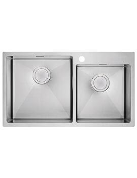 Clearwater Urban 810 x 450mm 1.75 Bowl Kitchen Sink