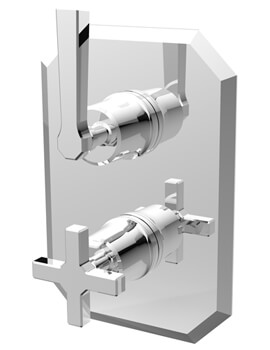Saneux Cromwell 2-Way Thermostatic Shower Valve