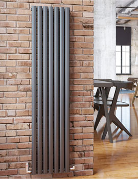 DQ Heating Cove Single - Double Vertical Radiator - Image