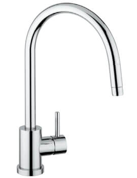 Clearwater Elmira C Monobloc Kitchen Sink Mixer Tap With Pull-Out Aerator - Image