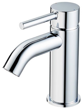 Ceraline Basin Mixer Tap With Clicker Waste