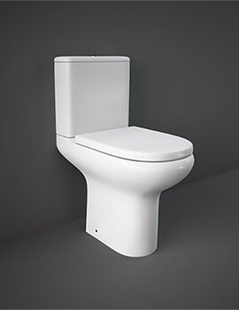 RAK Compact Close Coupled WC With Soft Close Seat 615mm