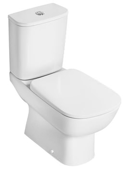 Studio Echo Closed Coupled WC Pan With Horizontal Outlet