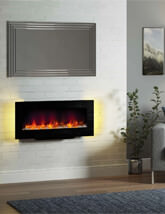 Bemodern Amari 38 Inch Wall Or Stand Mounted Electric Fire