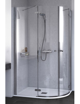 ID Match Round 900 x 900mm Quadrant Shower Enclosure