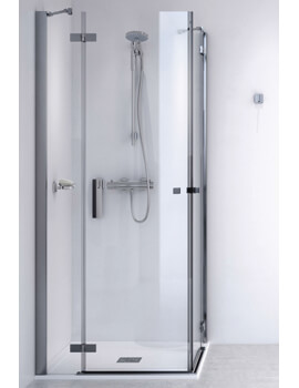 ID Match Square 1000 x 1000mm Corner Entry Shower Enclosure