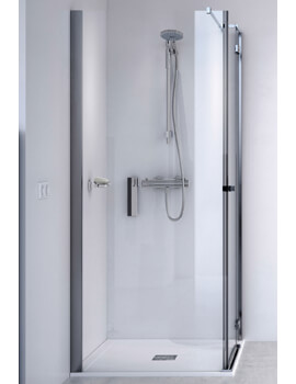 ID Match Square 800 x 800mm Hinge Door With Side Panel
