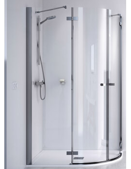 ID Match Square 800 x 800mm Quadrant Shower Enclosure
