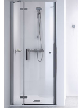 ID Match Square 800mm Recess Hinge Door With Fixed Panel