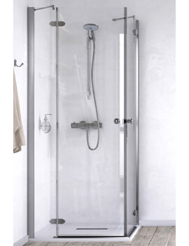 ID Match Time 1000 x 1000mm Corner Entry Shower Enclosure