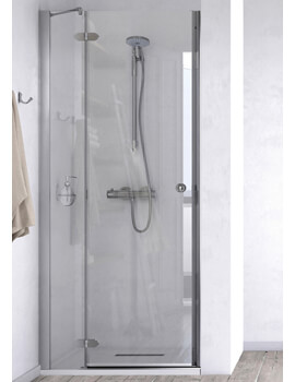 ID Match Time 1000mm Recess Hinged Door With Fixed Panel