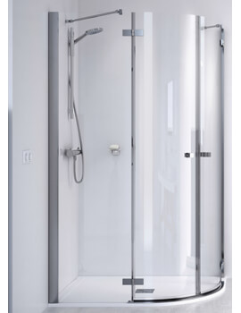ID Match Square 900 x 900mm Quadrant Shower Enclosure