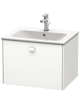 Brioso Wall Mounted 1 Drawer Vanity Unit For ME by Starck Basin