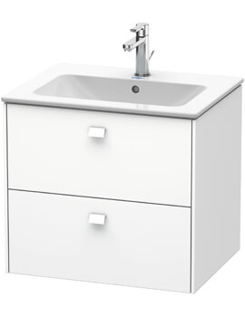 Brioso Wall Mounted 2 Drawer Vanity Unit For ME by Starck Basin