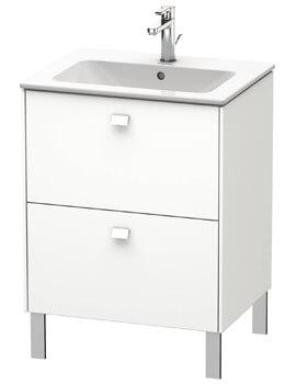 Brioso Floor Standing 2 Drawer Vanity Unit For ME by Starck Basin