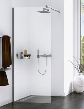 Origin 700mm Walk-In Shower Panel