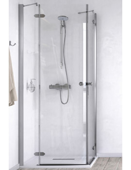 ID Match Time 800 x 800mm Corner Entry Shower Enclosure