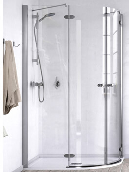 ID Match Time 800 x 800mm Quadrant Shower Enclosure