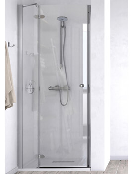 ID Match Time 900mm Recess Hinged Door With Fixed Panel