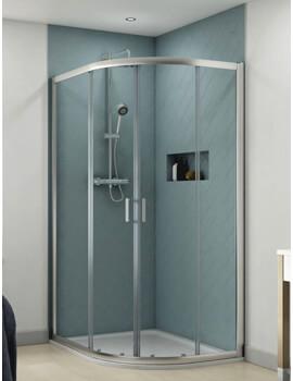 Origin 1200 x 900mm Offset Quadrant Shower Enclosure