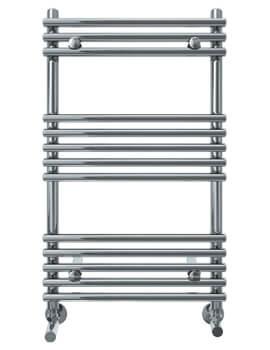 Vogue Tune 600mm Width Mildsteel Straight Towel Rail