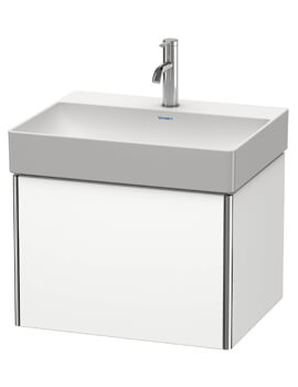XSquare Wall Mounted 1 Drawer Vanity Unit For DuraSquare Basin