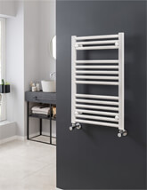 Vogue Focus 300mm Width Mildsteel Straight Towel Rail- More Colours & Sizes Available