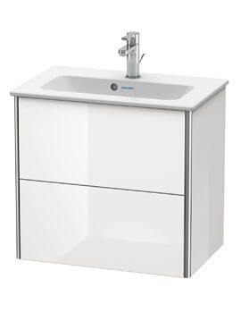 XSquare Wall Mounted 2 Drawer Compact Vanity Unit  For ME By Starck Basin