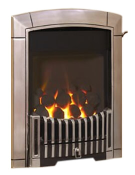 Caress HE Contemporary Glass Fronted Inset Gas Fire