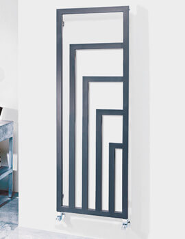 Geo 520 x 1460mm Pre-Filled Electric Radiator Anthracite