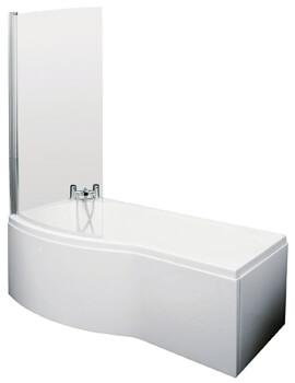 Premier B-Shaped Left Hand 1500mm Shower Bath Set