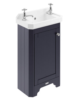 515mm Floor Standing Vanity Unit With 2 Taphole Basin