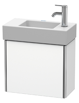 XSquare Wall-Mounted 1 Left-Hand Hinged Door Vanity Unit 484 x 240 x 397mm