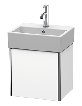 XSquare Wall-Mounted 1 Left-Hand Hinged Door Vanity Unit 434 x 340 x 397mm