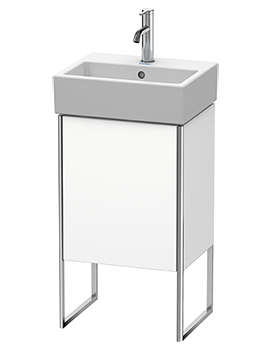 XSquare 1 Left-Hand Hinged Door Floor-Standing Vanity Unit 434 x 340 x 731mm