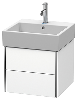 Duravit XSquare Wall Mounted 2 Drawer Vanity Unit 484 x 460 x 397mm